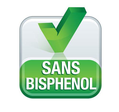 Logo vert sans bisphenol