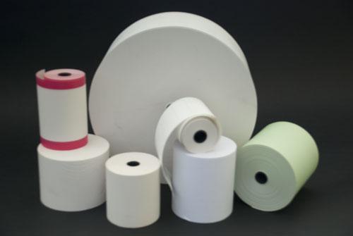 Des bobines papier